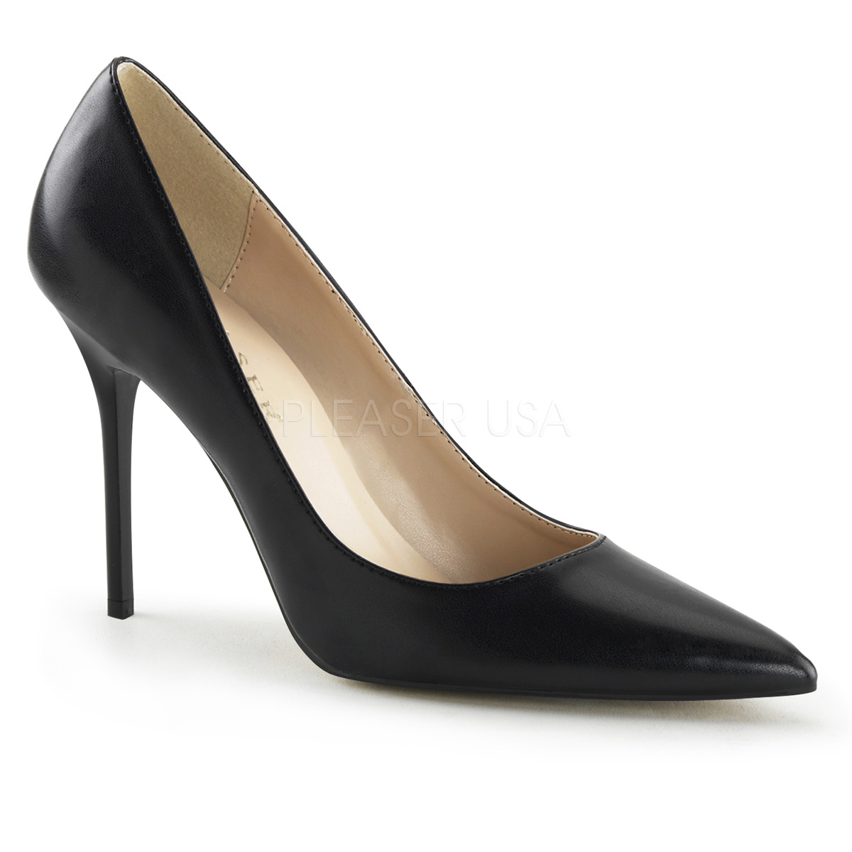 4 Inch Stiletto Heel Pointed Toe Pump
