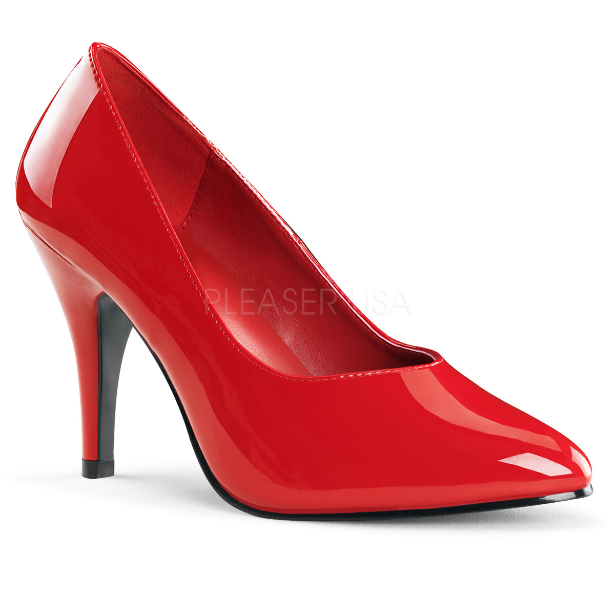 4 Inch Stiletto Heel Pump - Click Image to Close