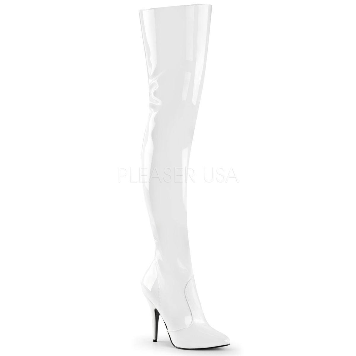 5 Inch Stiletto Heel Thigh High Boots
