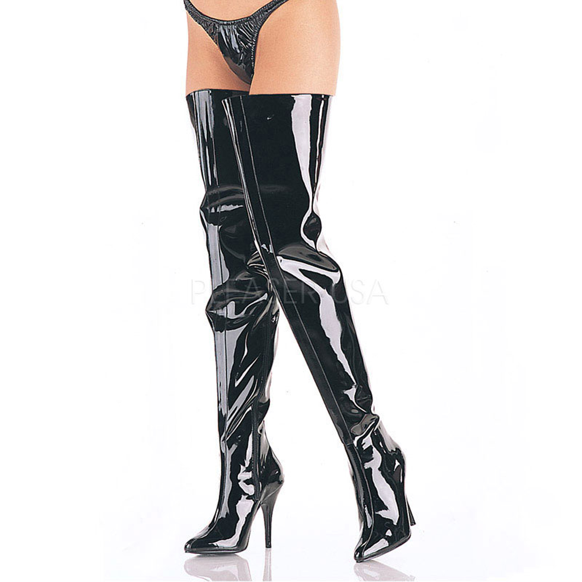 5 Inch Stiletto Heel Crotch High Boots